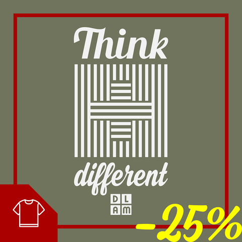 Think different / T-shirt chrétien en promotion