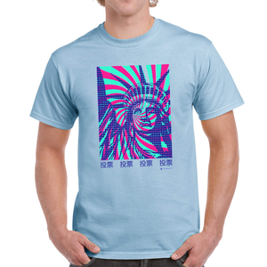 "Lady Liberty Japanese ""VOTE"" t-shirt"