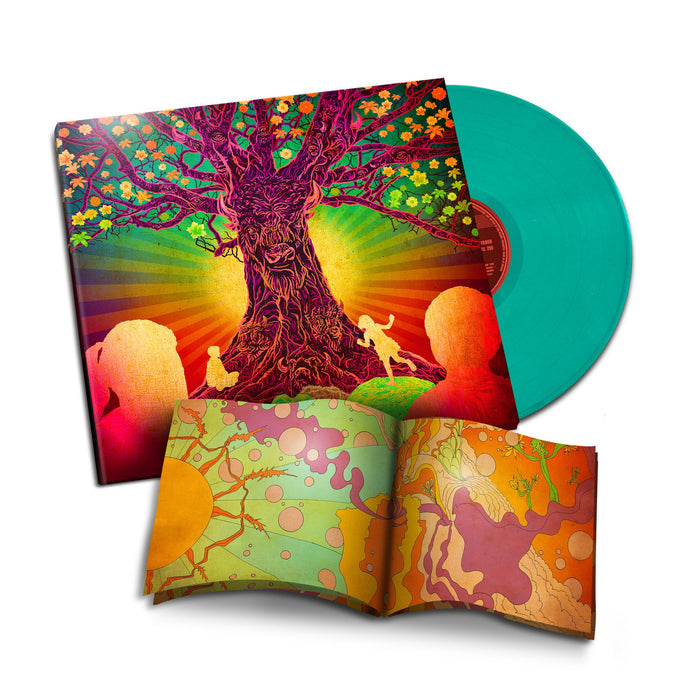 Sunshine Village - The Buffalo Trees Saved the Children of the Sun - 180 Gram Colored Vinyl ( Limited Gatefold 1st Pressing of 500 Includes Children's Book )