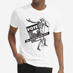 VOTE.TheWorldDependsOnIt T-SHIRT