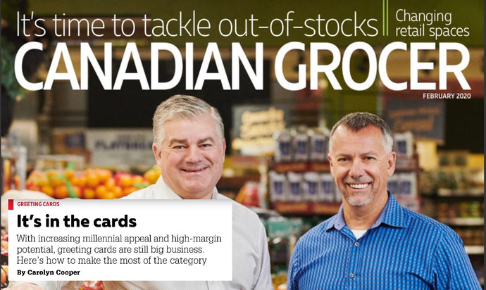IN THE PRESS! Northern Cards talks to Canadian Grocer