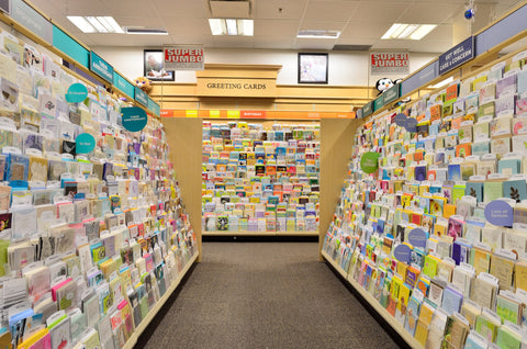 greeting card store