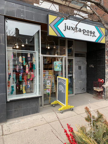 Juxtapose Store Outside