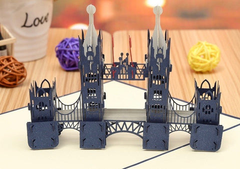 London Bridge Pop-up Card