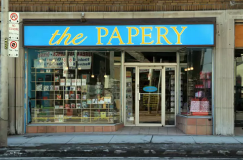 The Papery window