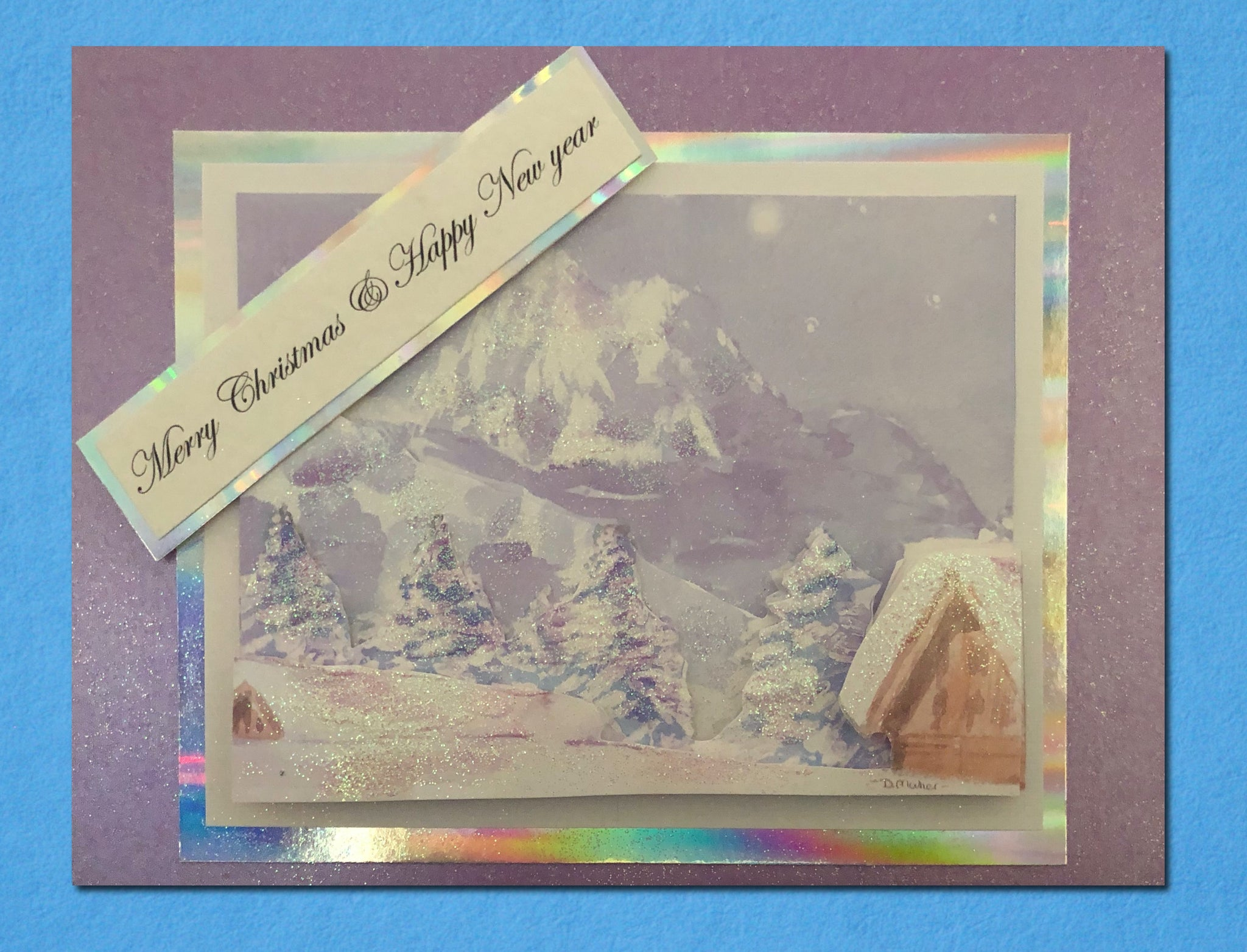 make your own Christmas card