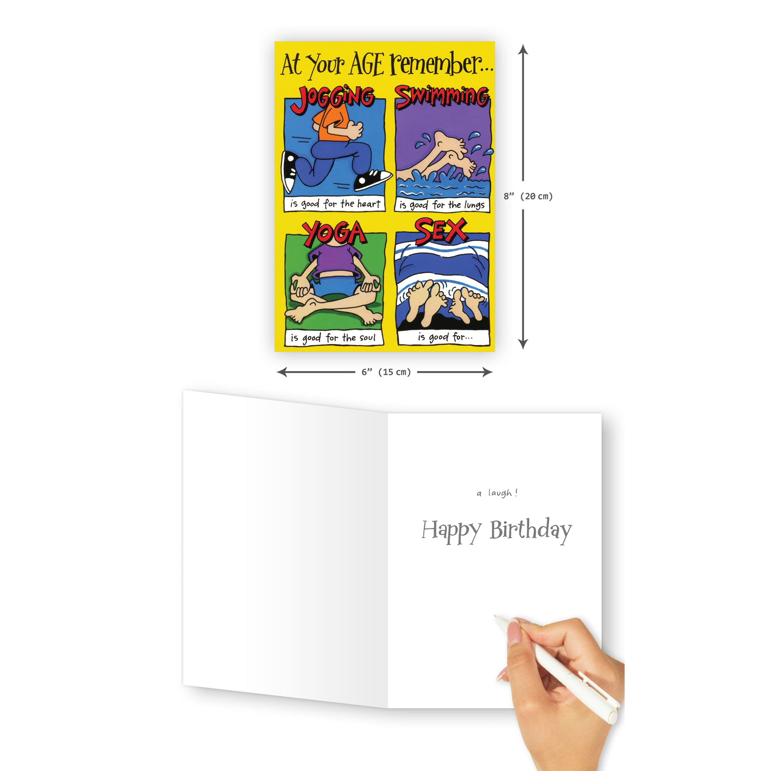 'Good For' Old Age Birthday Card - Northern Cards