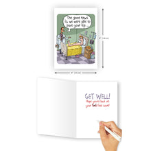 'The Good News' Get Well Card - Northern Cards