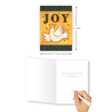 'Joy' Christmas Card - Northern Cards size with inside