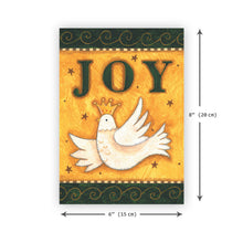 'Joy' Christmas Card - Northern Cards size
