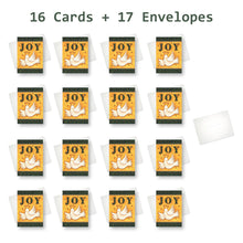 'Joy' Christmas Card - Northern Cards 16 cards