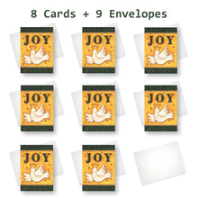'Joy' Christmas Card - Northern Cards 8 cards