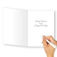 'Small Town Christmas' Merry Christmas Card - Northern Cards inside