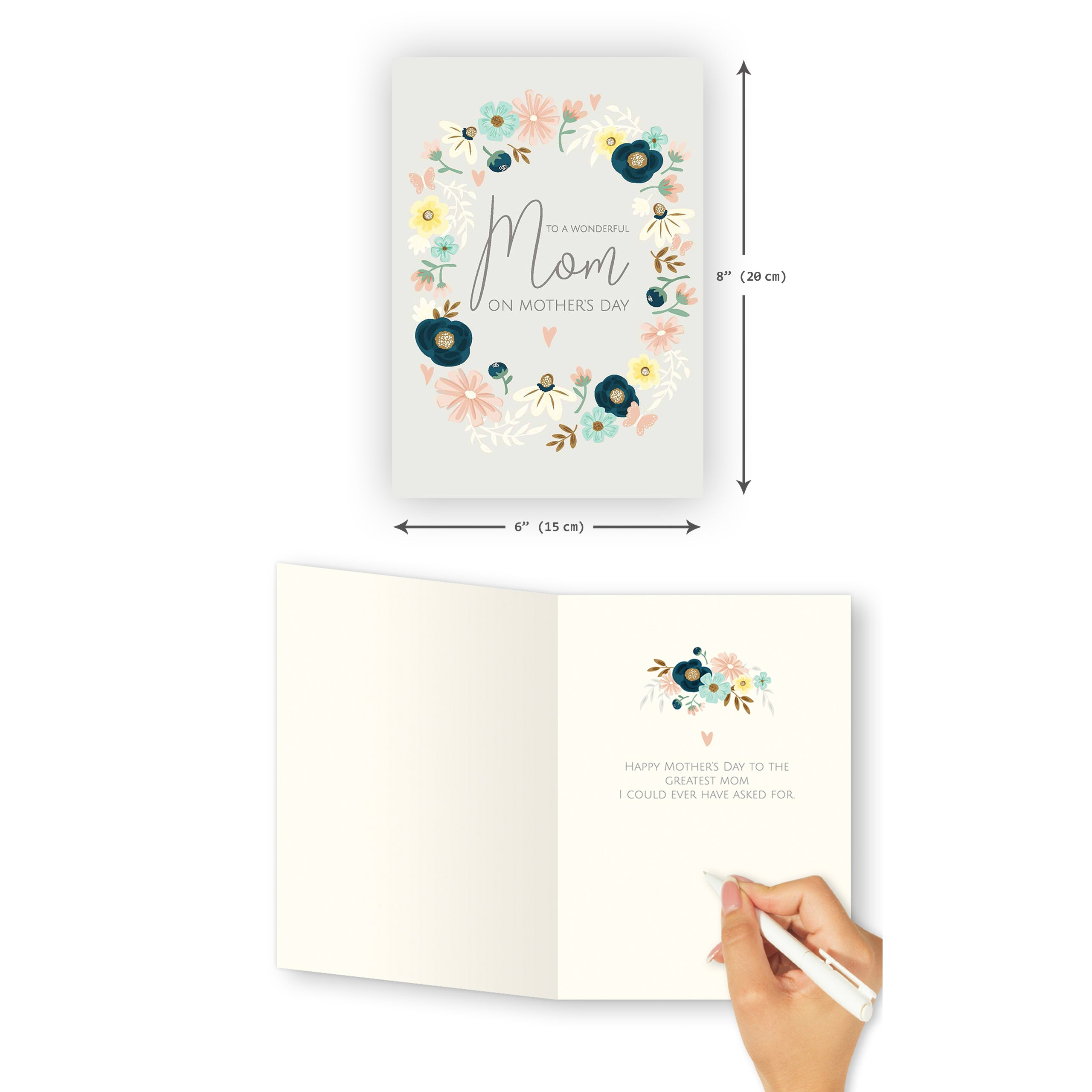 'Greatest Mom' Mother's Day Card - Northern Cards