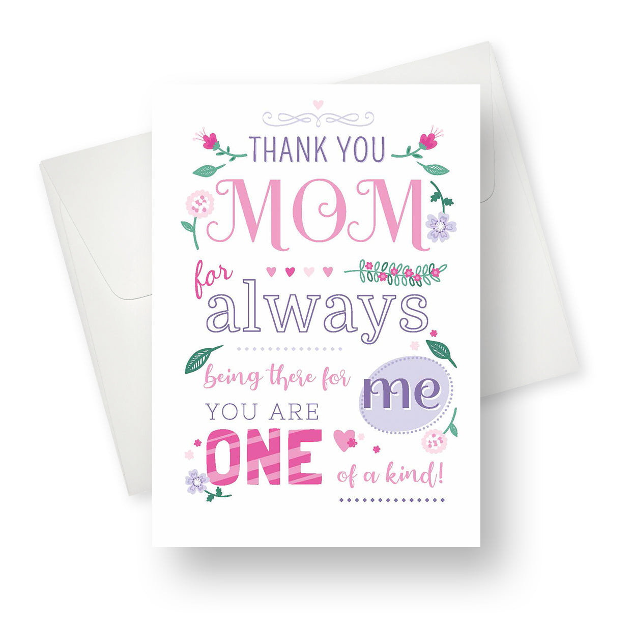 'Thank You Mom' Mother's Day Card - Northern Cards