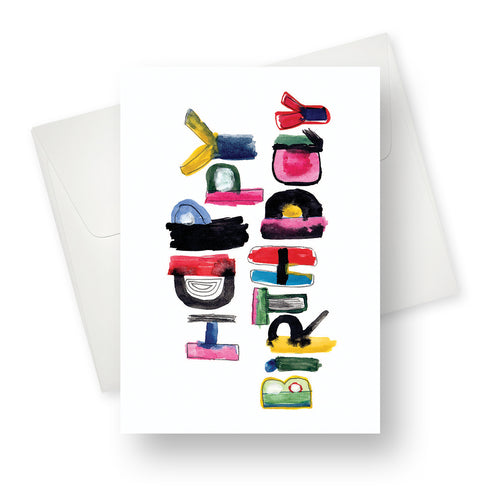 'Colourful Birthday' Birthday Card - Northern Cards