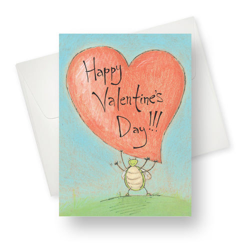 Lovebug Valentine's Card - Northern Cards