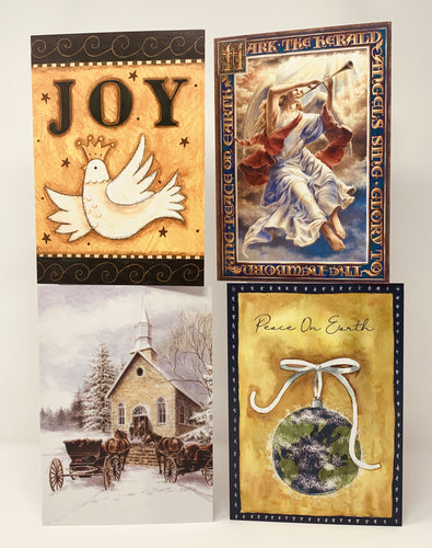 16 Pack Christmas Cards - Northern Cards card fronts photo