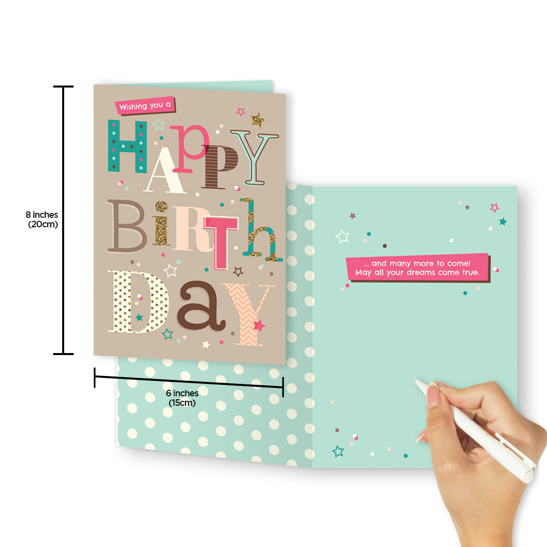Birthday Card Assortment (6 Cards) - Northern Cards