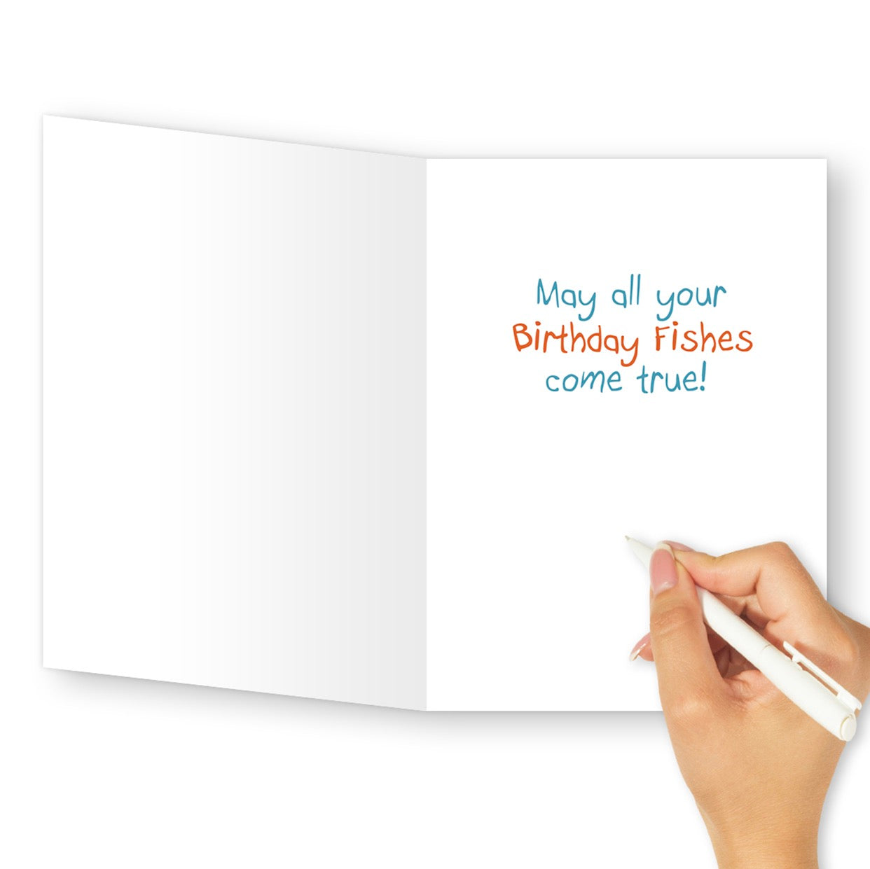 'Birthday Fishes' Birthday Card - Northern Cards
