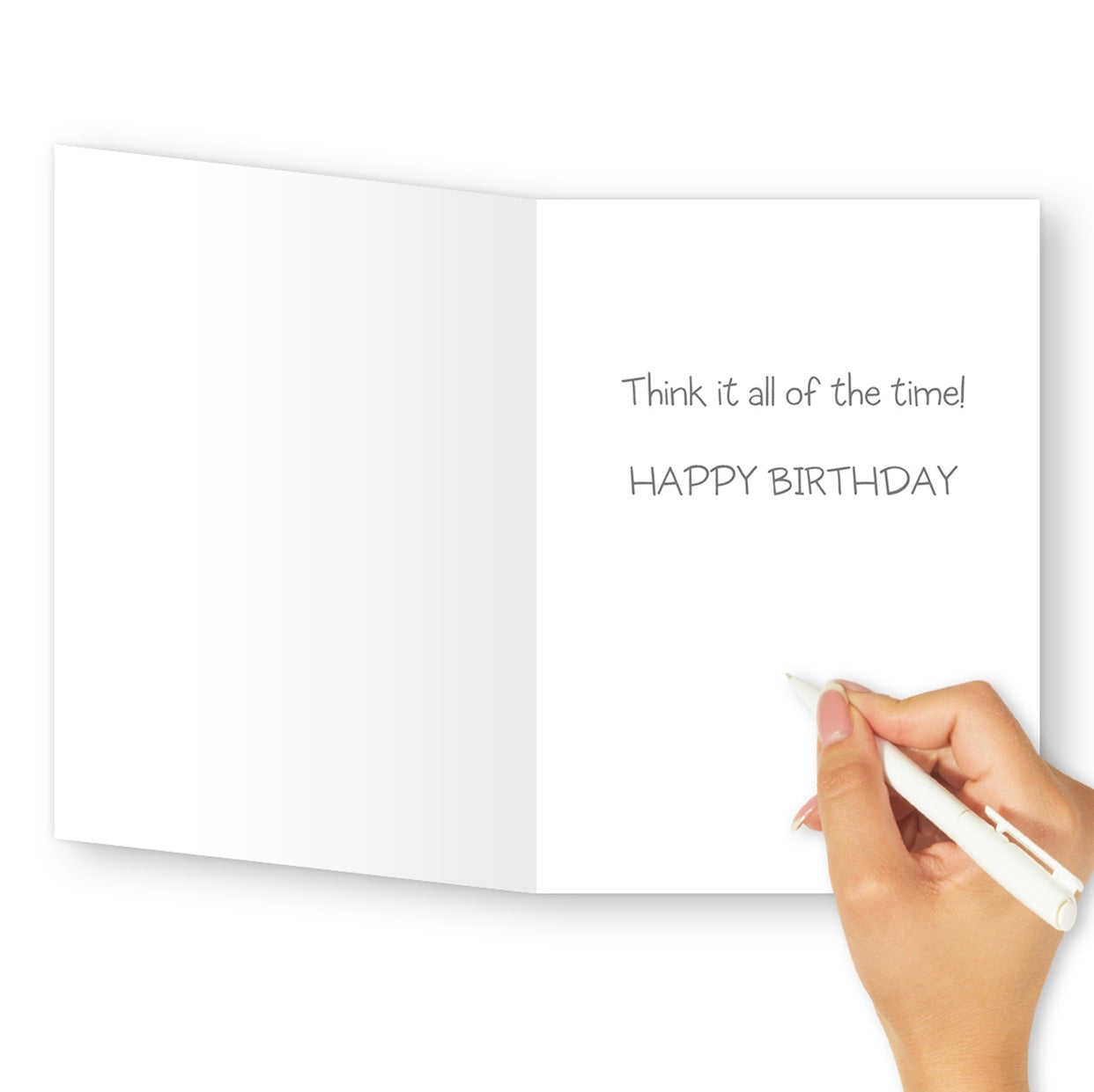 'Just' Because Birthday Card - Northern Cards