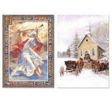 6 Pack Traditional Christmas Card Assortment - Northern Cards