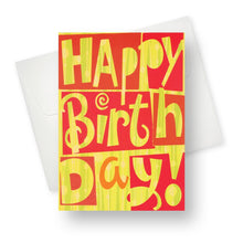 'Big Birthday' Birthday Card - Northern Cards