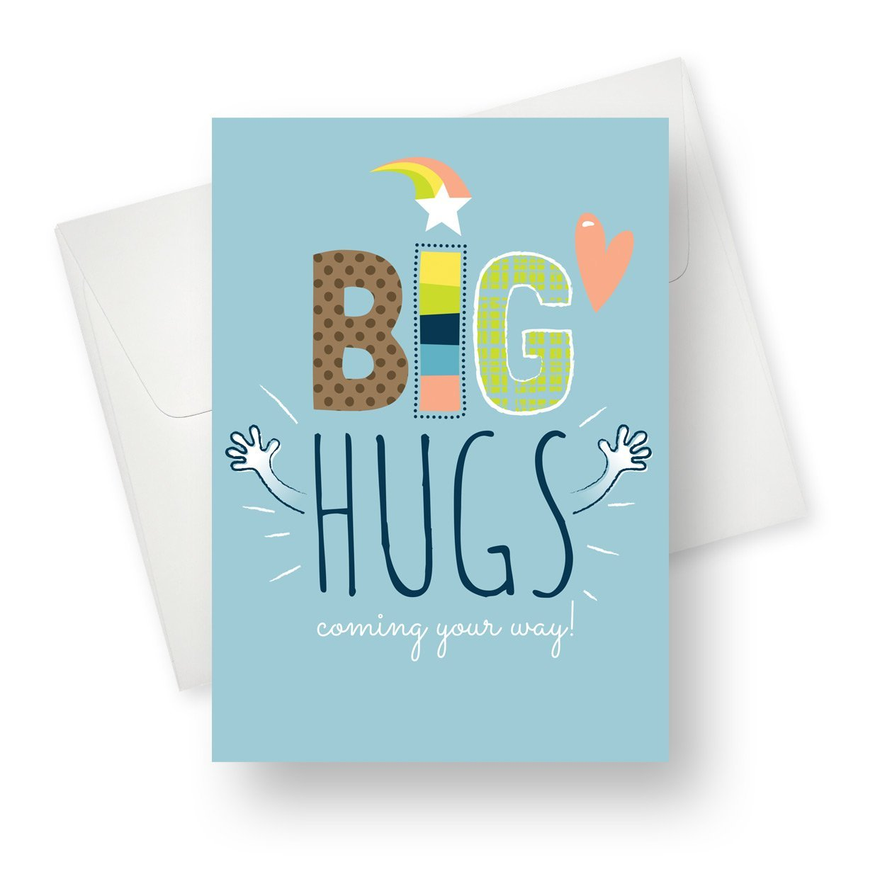 'Big Hugs' Friendship Card - Northern Cards