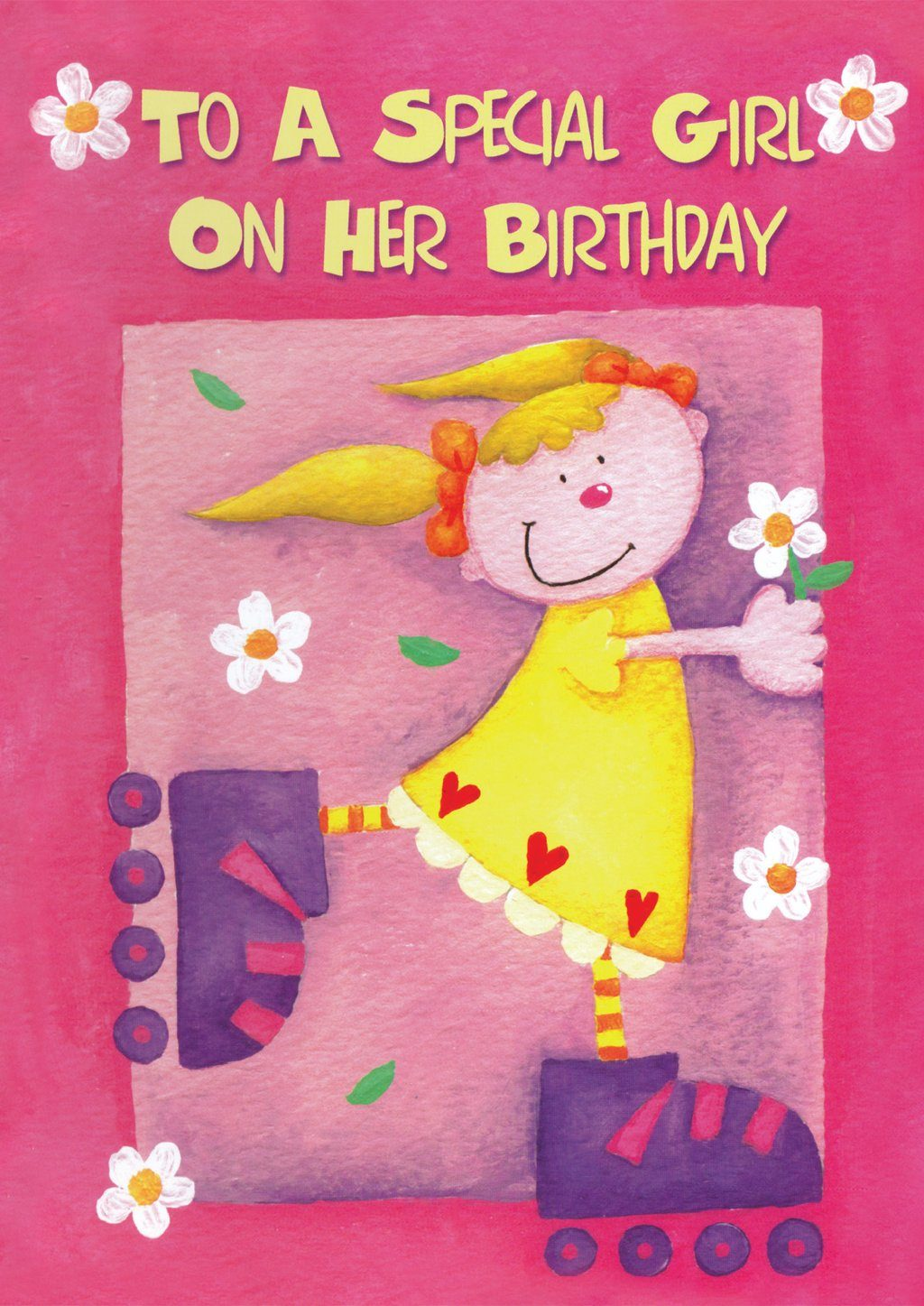 'Birthday Girl' Birthday Card - Northern Cards