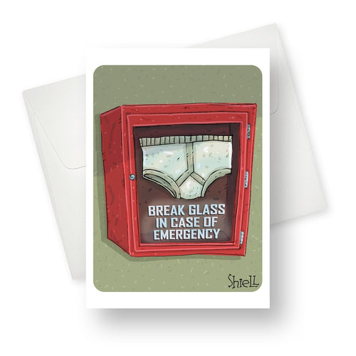 'Brief' Love/Someone Special Card - Northern Cards