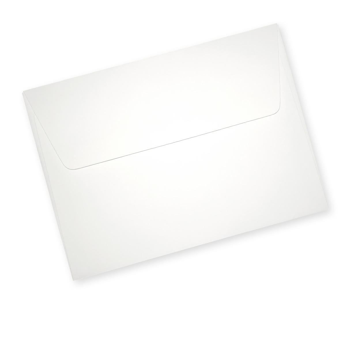 White, thick, 70lb greeting card envelopes (sealed box of 500) - Northern Cards
