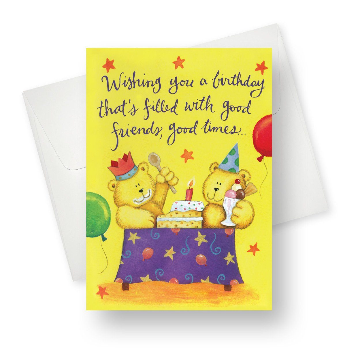 'Ice Cream and Cake' Kids Birthday Card - Northern Cards