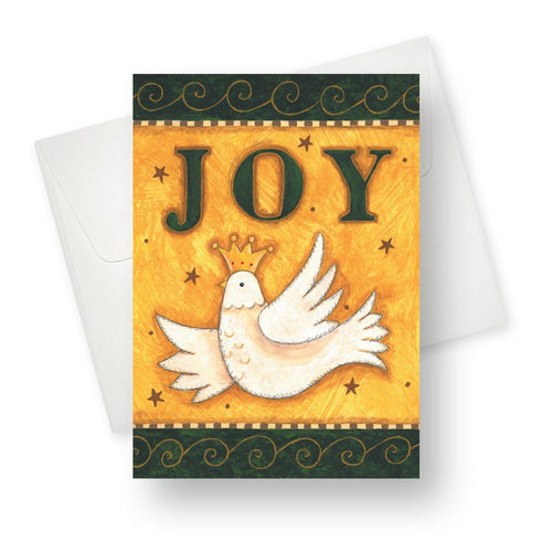 'Joy' Christmas Card - Northern Cards