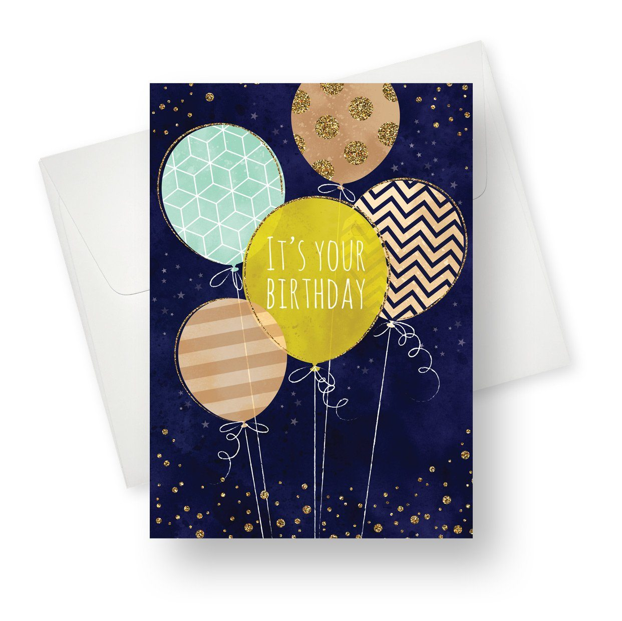 'Let's Celebrate' Birthday Card - Northern Cards