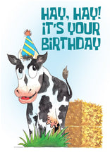 'Milk It' Cow Birthday Card - Northern Cards