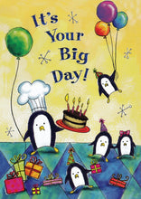 'Penguin Party' Birthday Card - Northern Cards