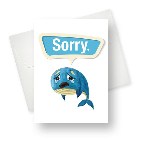 'Sorry' Apology Card - Northern Cards