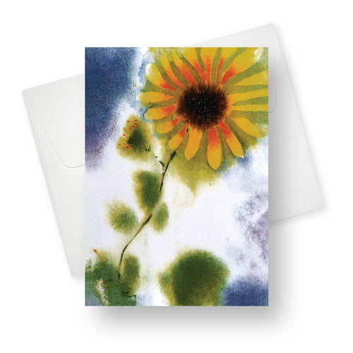 'Sunflower' Blank Card - Northern Cards