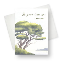 'Time of Sorrow' Sympathy Card - Northern Cards