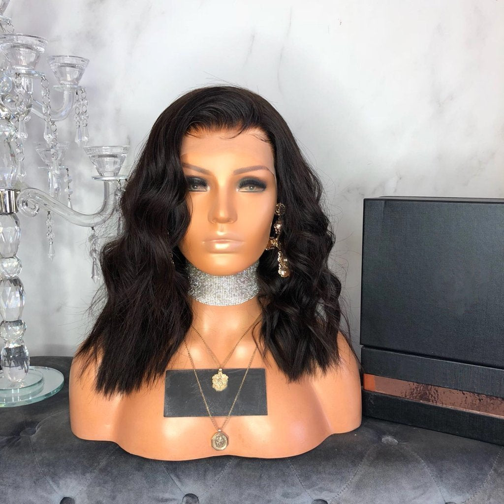 Hairsleisure Jessa Rose 360 Lace Wig Pre Plucked Lace Frontal Black  Middle Long Wig