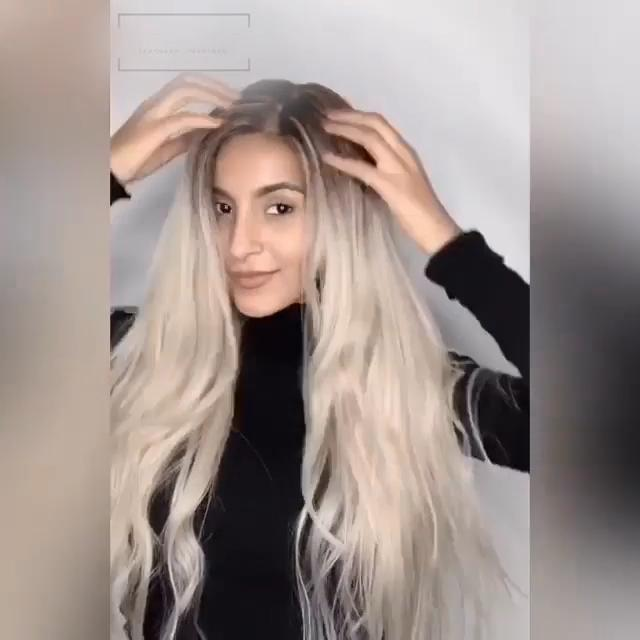 Hairsleisure Long Wave Gray-White 360 Lace Wig 100% Virgin