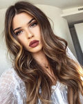 Hairsleisure Beauty Straight Wig | Natural Lace Wig | 360 Human Wig | Brown Wig