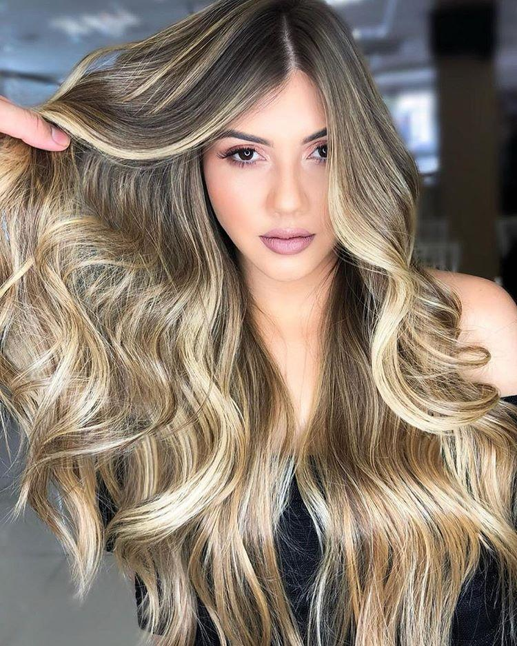 Hairsleisure 2020 New Fashion Human Hair Long Light Brown Wig