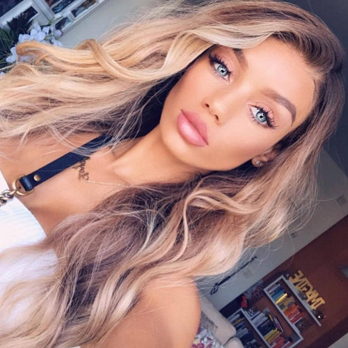 Hairsleisure Long Wave 2021 Brown Curly Wig 100% Virgin | Human Wig