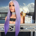 Hairsleisure Gradient Purple Long 360 Lace Wig Frontal Hand-Tied Trendy
