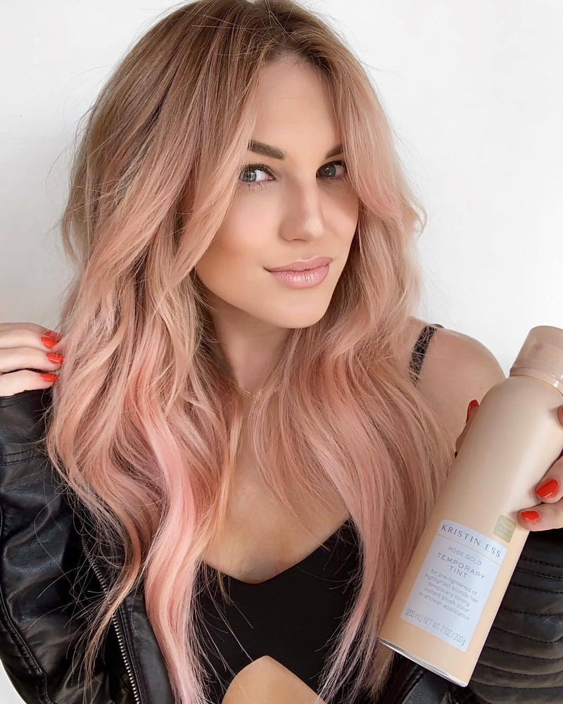 Hairsleisure Sweet Pink 360 Lace Wig Pre Plucked Lace Frontal Wig