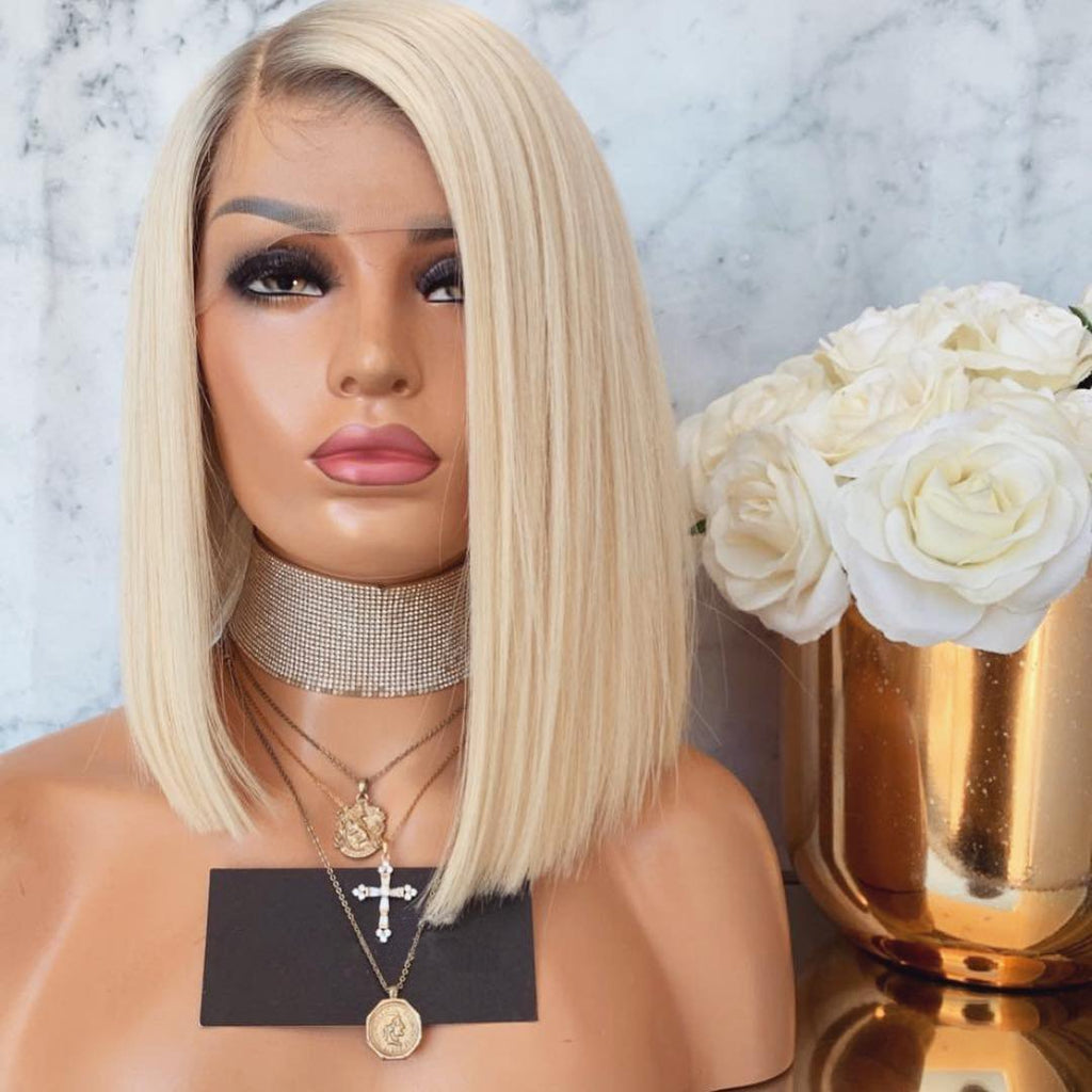 New Fashion Blonde Luxe BOB Wig