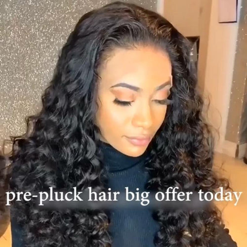Hairsleisure Brazilian Water Wave 360 Lace Frontal Wig Human Hair Best Seliing