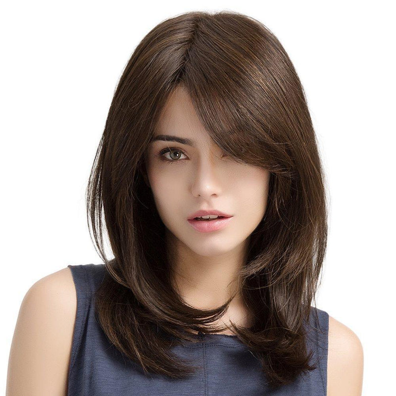 Hairsleisure Long Straight Daily Wig Human Hair Lace