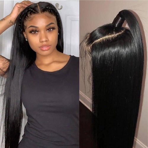Hairsleisure The Kay Unit - Glueless Full Lace Straight Black Wig | Human Wig